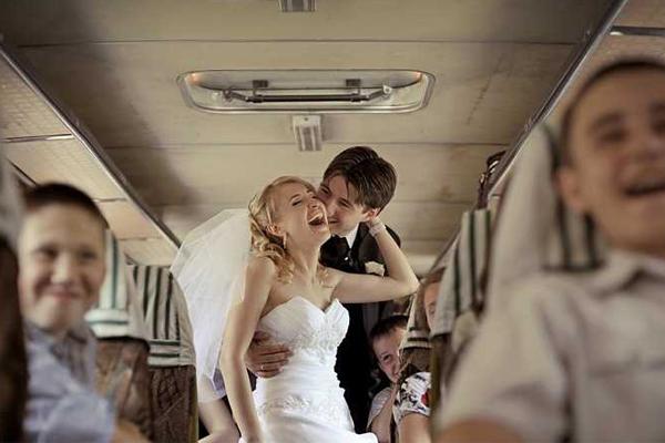 Автобус на свадьбу в Харькове